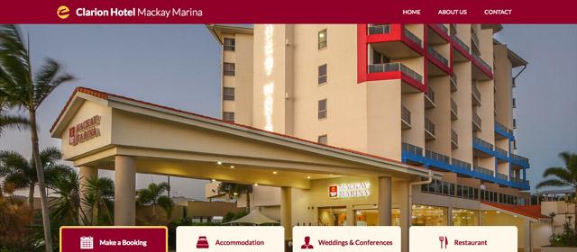 Clarion Hotel Mackay Marina Screenshot