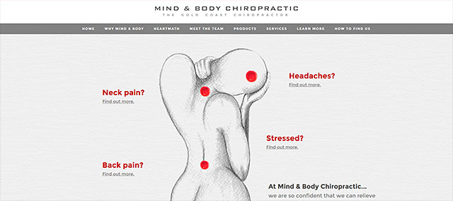Mind & Body Chiropractic Screenshot