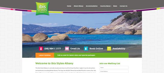 Ibis Styles Albany Screenshot