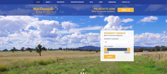 MacDougall Rural Real Estate Screenshot